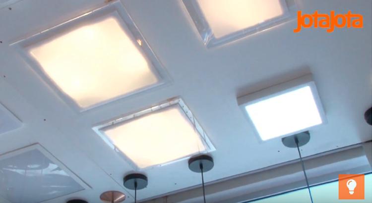 painéis de LED
